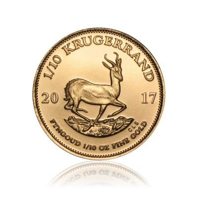 1/10 Unze Gold Krügerrand 2017