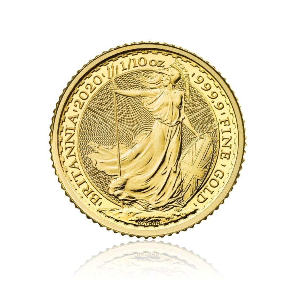 110 Unze Gold Britannia 2020