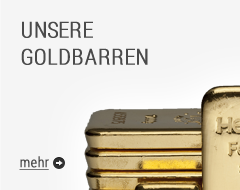 Goldbarren im Shop